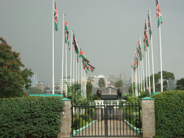 Jomo Kenyatta burial site Nairobi (first President of independent Republic of Kenya)