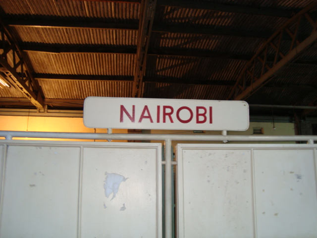 All aboard for Nairobi
