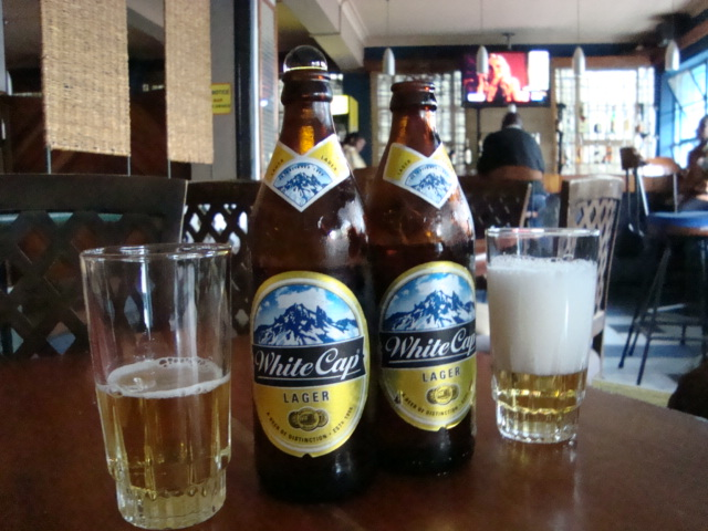 White Cap Lager in Nairobi